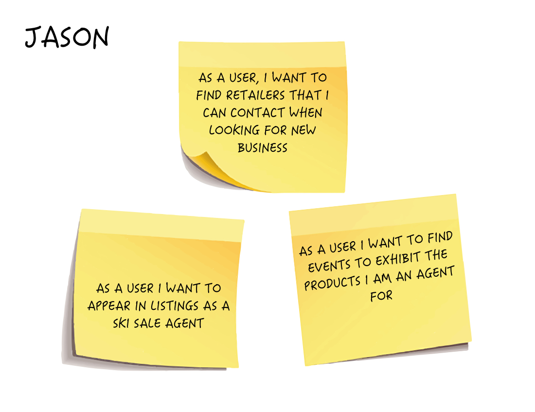 User Story - Jason